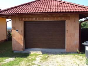 Garážová vrata skladem