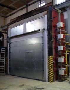 Požární sekční vrata