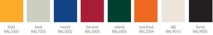 barevná provedení