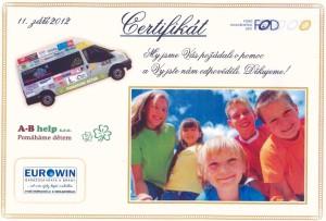 fond ohrožených dětí Eurowin