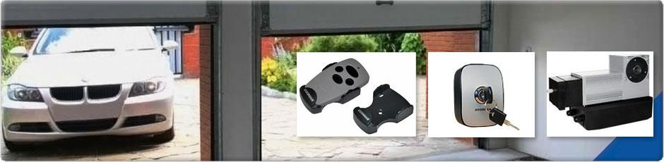 garážová vrata dálkové ovládání