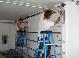 Instalace garážových vrat