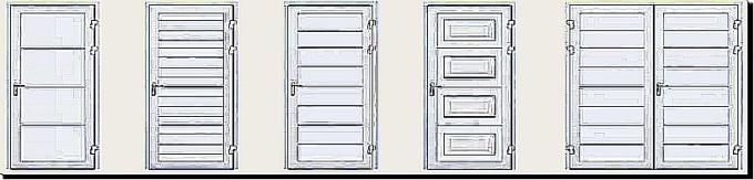 Typy garážových dveří
