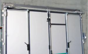Garážová vrata konstrukce